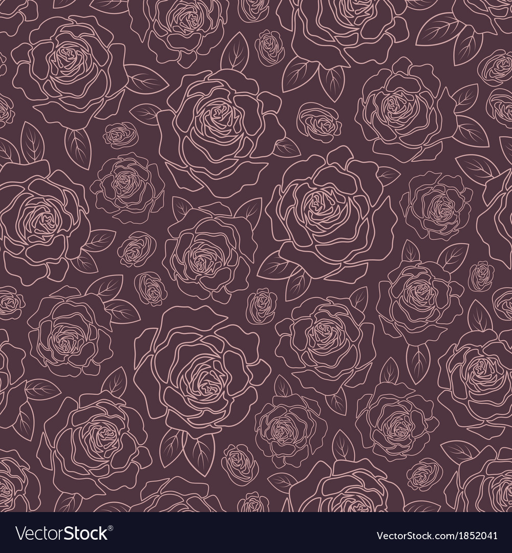 Background of roses vector | Price: 1 Credit (USD $1)