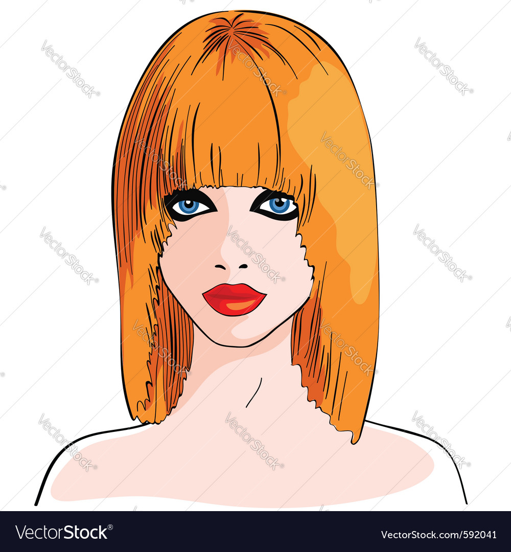 Beautiful model vector | Price: 3 Credit (USD $3)