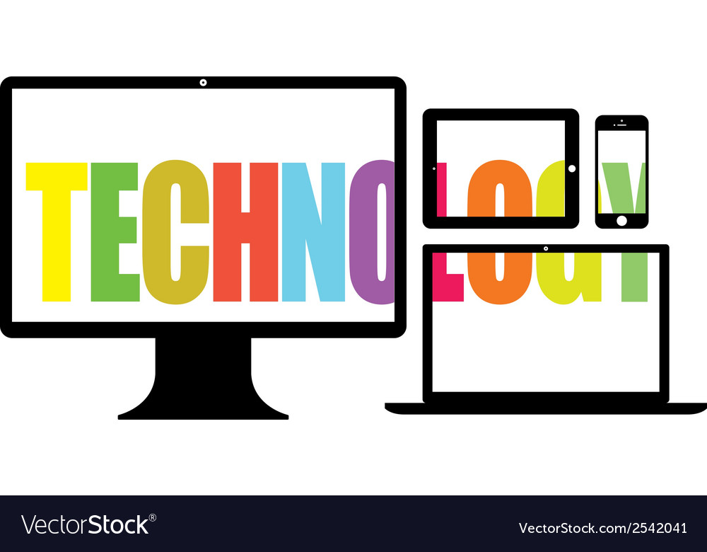 Colourful technology vector | Price: 1 Credit (USD $1)