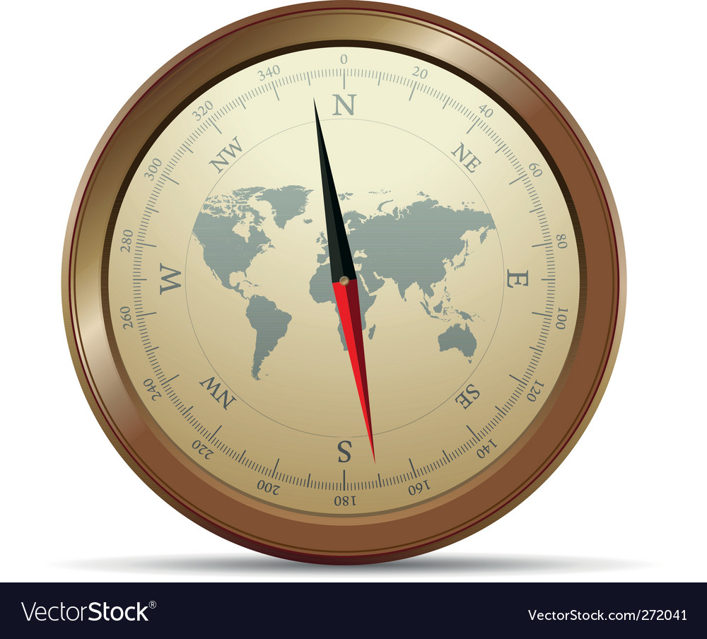 Compass vector | Price: 3 Credit (USD $3)