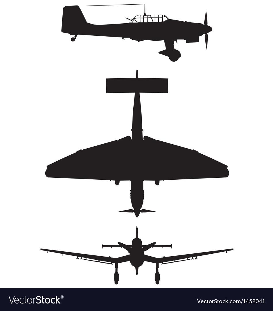 Junkers ju 87 b2 stuka vector | Price: 1 Credit (USD $1)