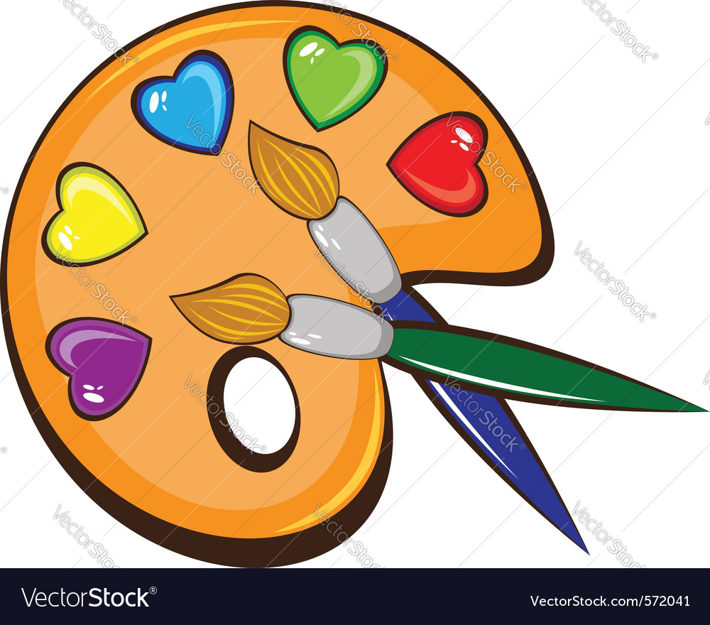 Palette of colors vector   Price: 1 Credit (USD $1)