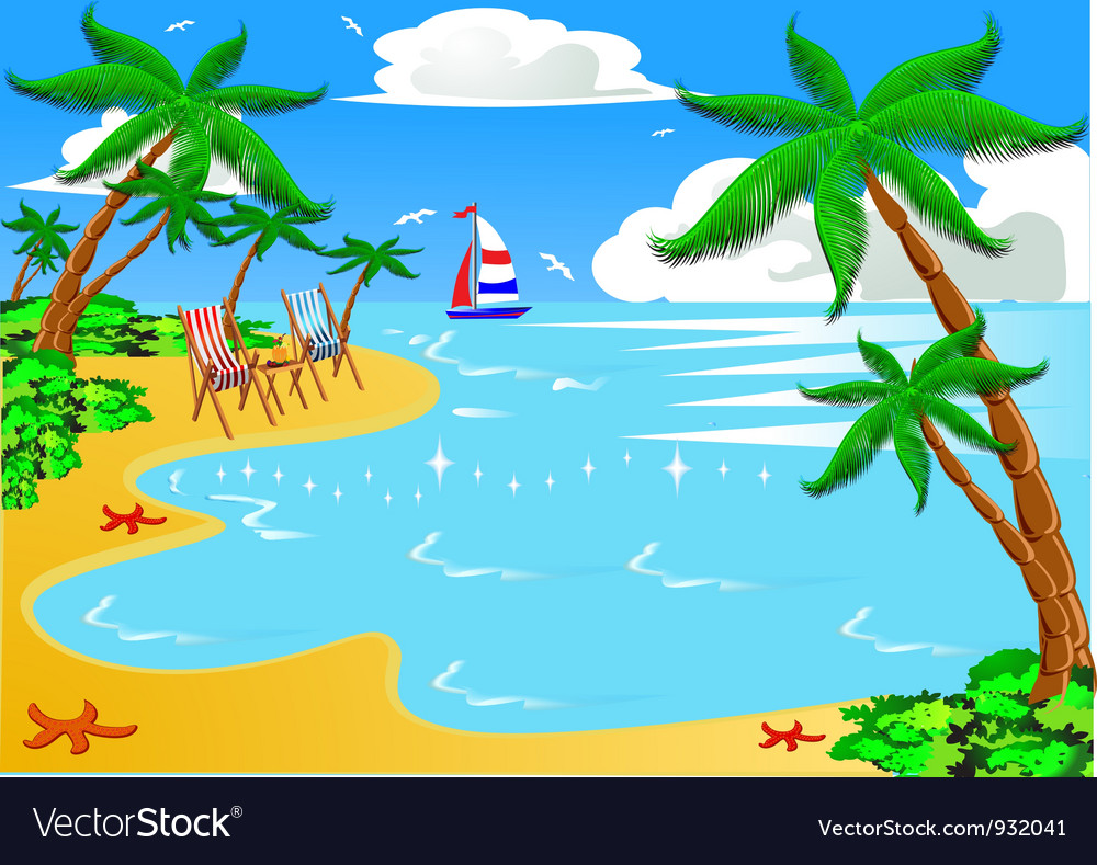 Vacation background vector   Price: 1 Credit (USD $1)