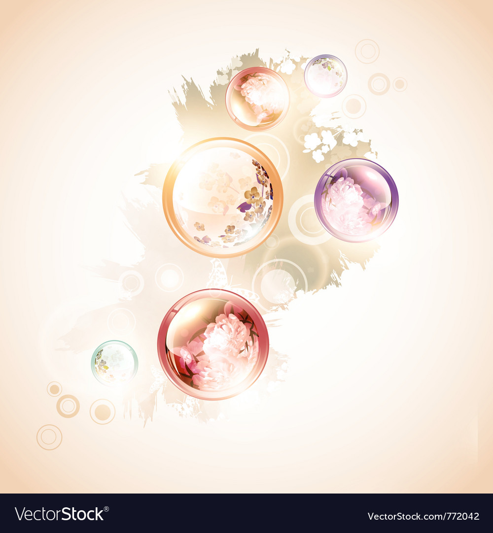Abstract summer decoration vector | Price: 3 Credit (USD $3)