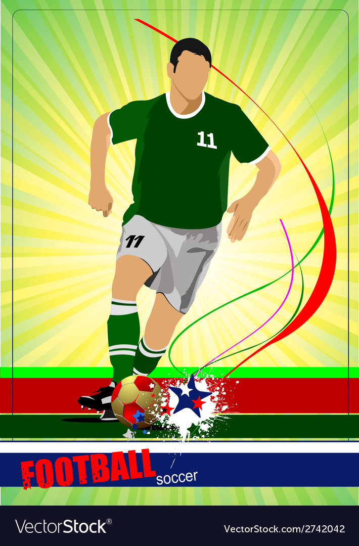Al 0532 soccer 01 vector | Price: 1 Credit (USD $1)