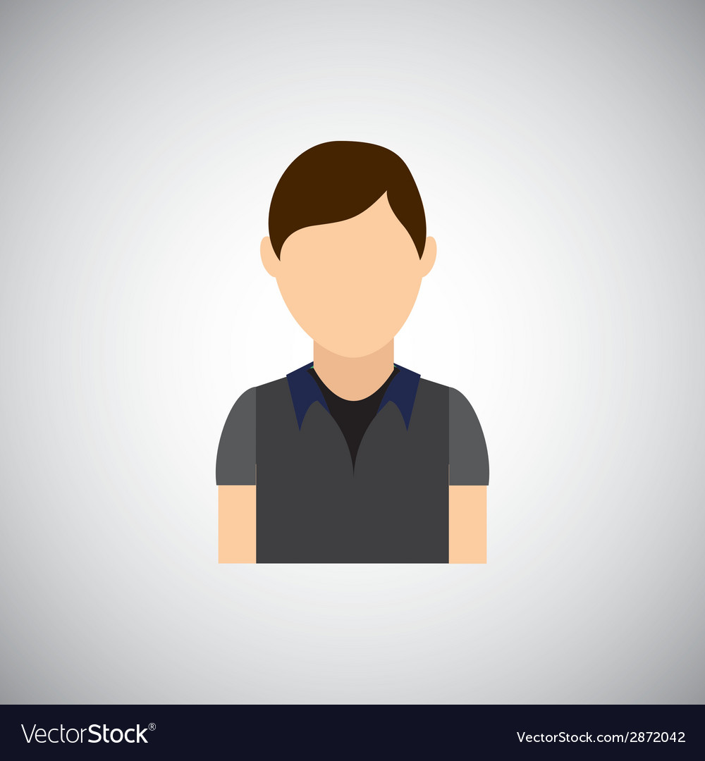 Young man vector   Price: 1 Credit (USD $1)