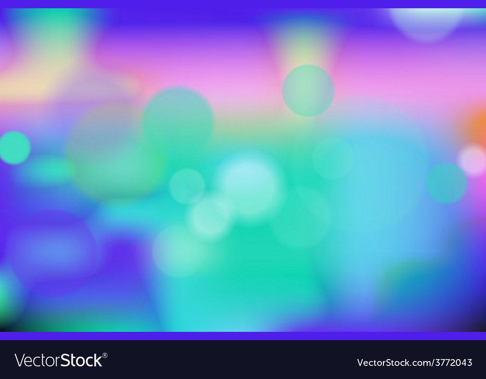 Blue bokeh background vector | Price: 1 Credit (USD $1)