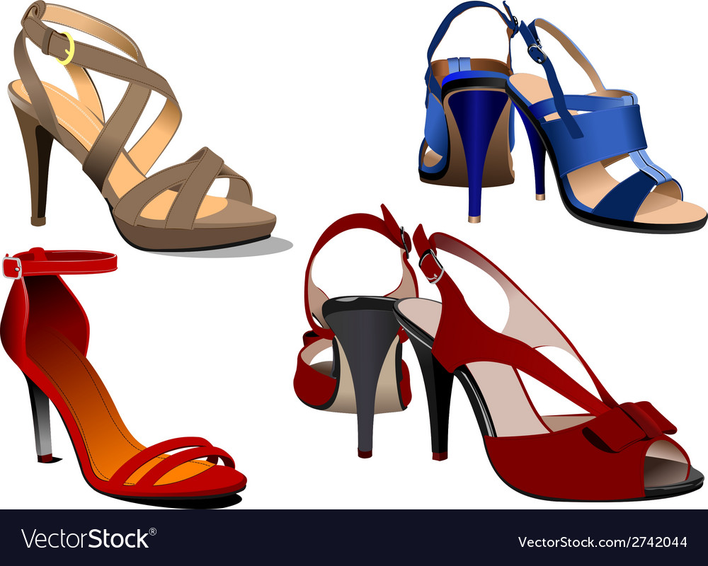 Al 0533 shoes vector | Price: 1 Credit (USD $1)