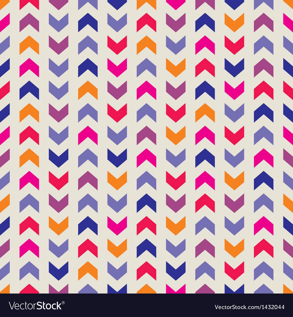 Aztec chevron seamless colorful pattern background vector | Price: 1 Credit (USD $1)