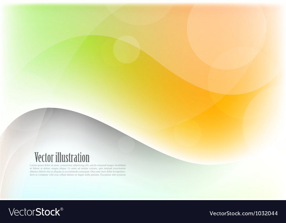 Bright wavy background vector | Price: 1 Credit (USD $1)