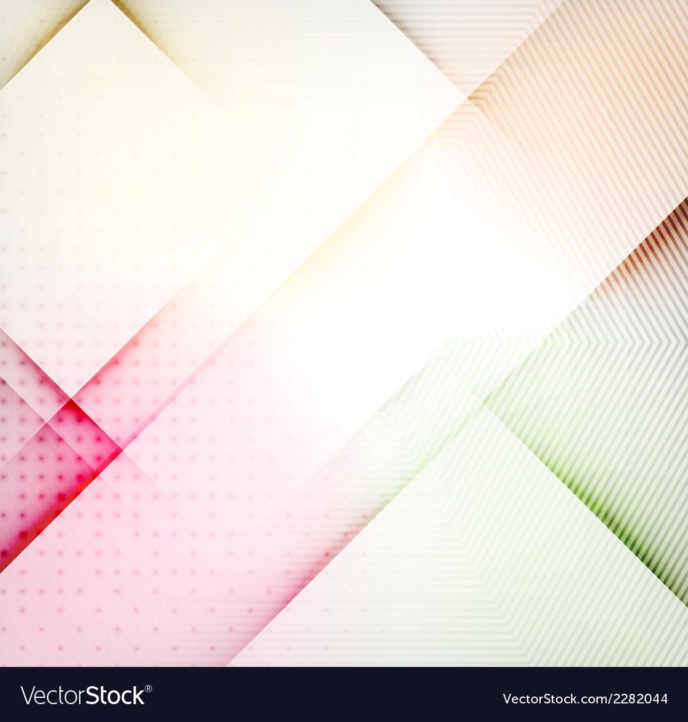Geometric diamond shape abstract background vector | Price: 1 Credit (USD $1)