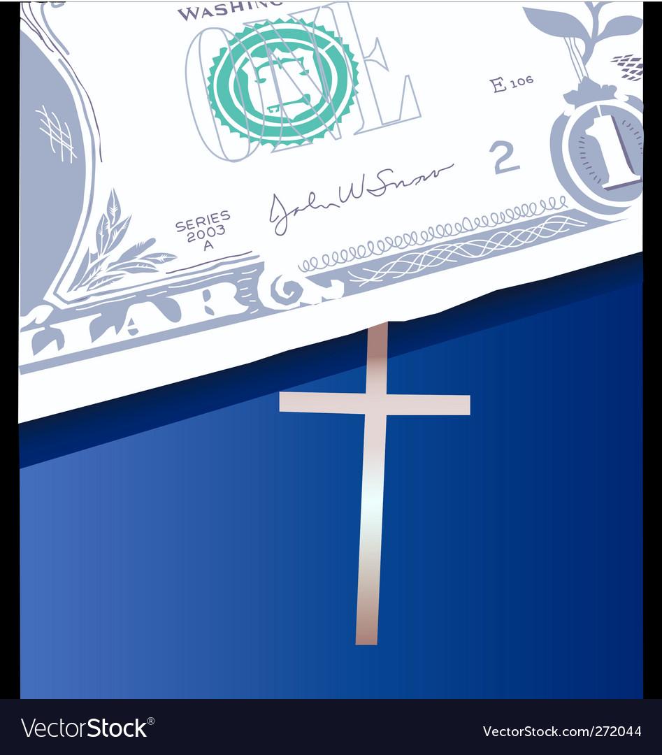 Money bible vector | Price: 1 Credit (USD $1)