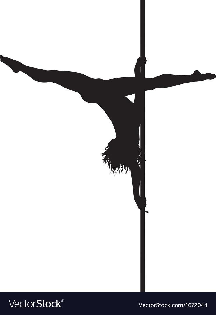 Pole dancer vector | Price: 1 Credit (USD $1)