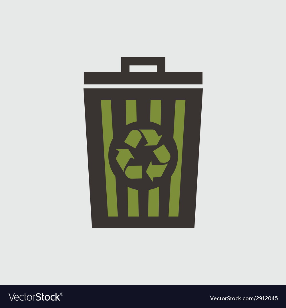 Recycle basket vector | Price: 1 Credit (USD $1)