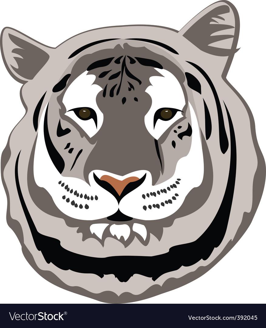 White tiger vector   Price: 1 Credit (USD $1)