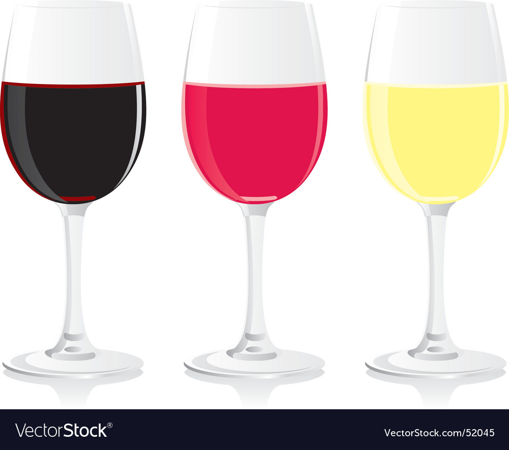 Wine glasses vector | Price: 1 Credit (USD $1)