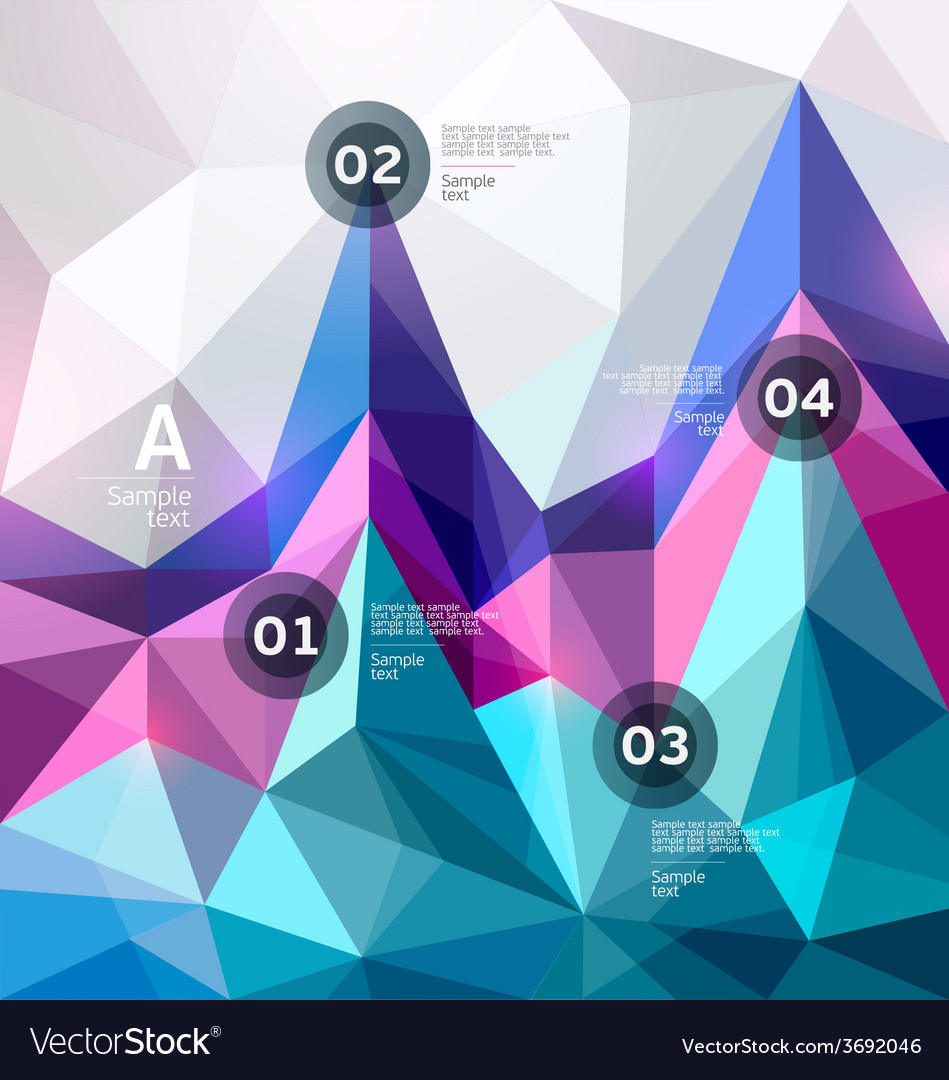 Colorful graph vector | Price: 1 Credit (USD $1)