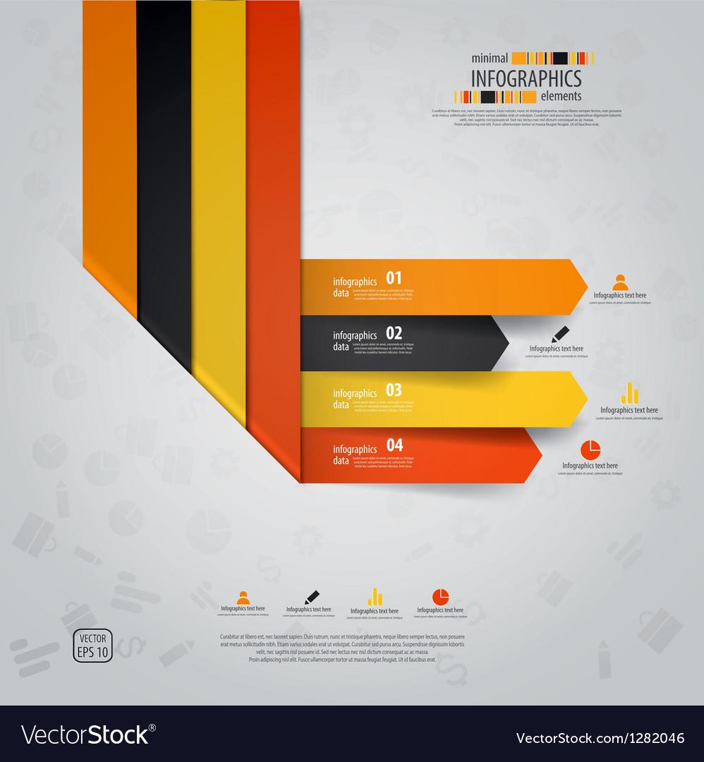 Line infographics 3 vector | Price: 1 Credit (USD $1)