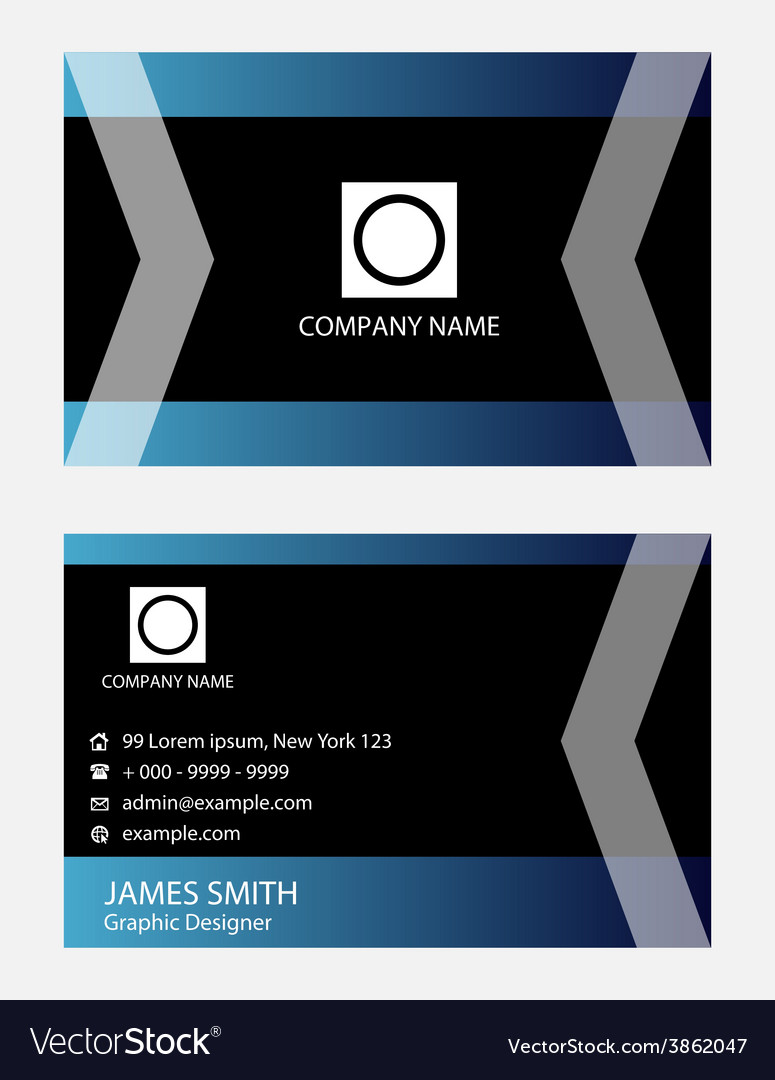 Creative business card vector   Price: 1 Credit (USD $1)