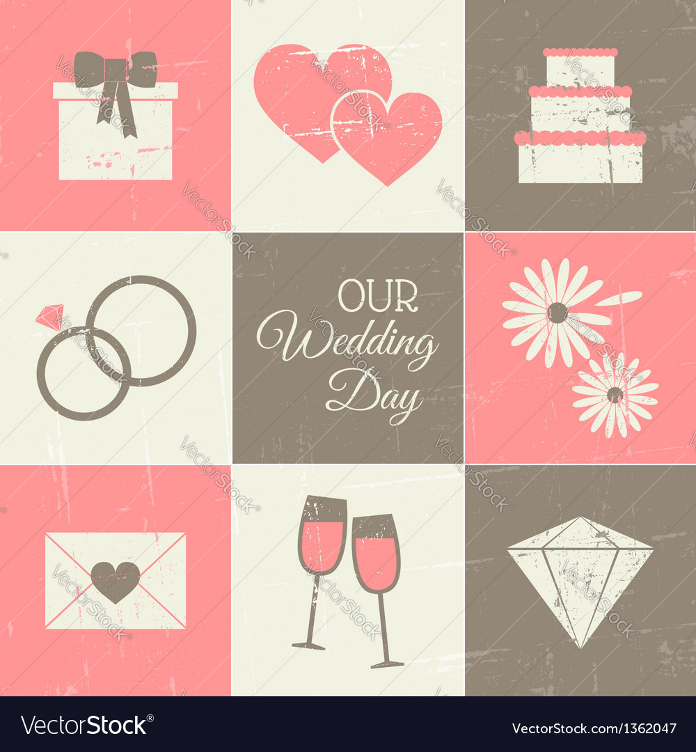 Wedding day collection vector | Price: 3 Credit (USD $3)