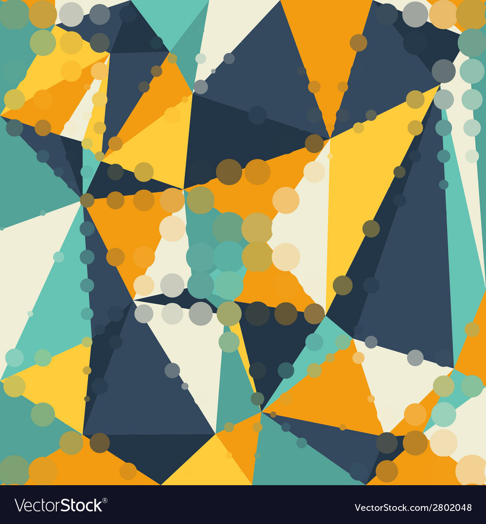 Abstract graphic background of polygon triangle vector | Price: 1 Credit (USD $1)