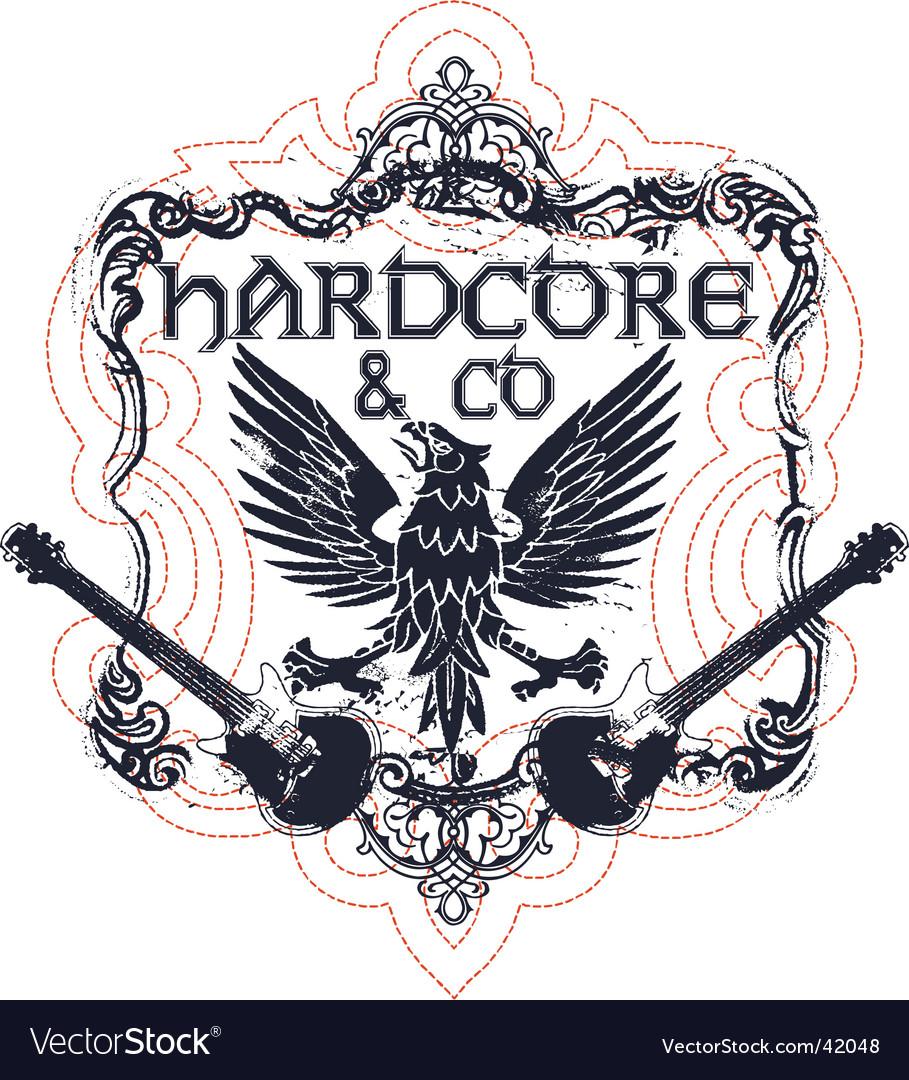 Hardcore music vector   Price: 1 Credit (USD $1)