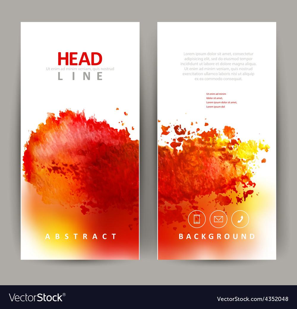 Red blot vector | Price: 1 Credit (USD $1)