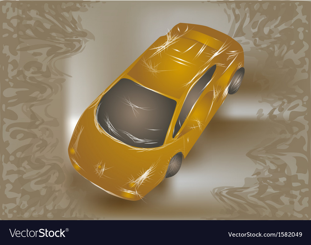 Abstract car vector | Price: 1 Credit (USD $1)