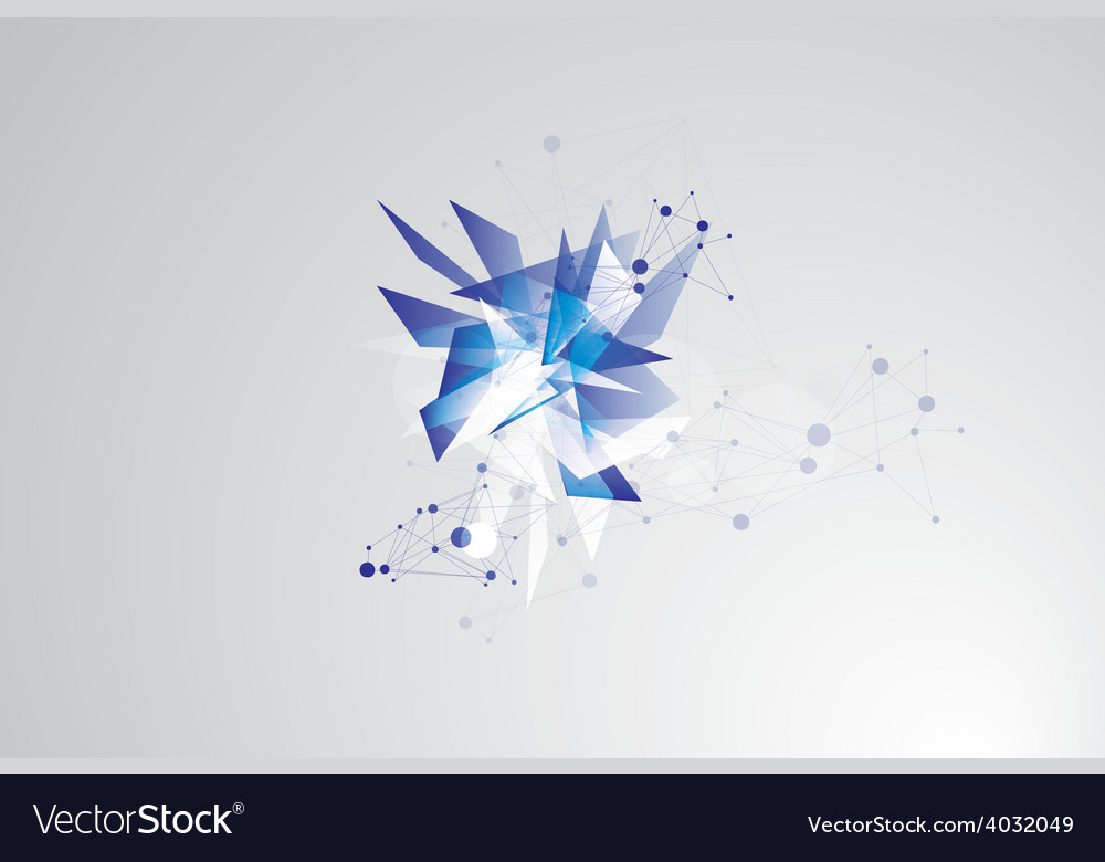 Abstract futuristic technology vector | Price: 1 Credit (USD $1)