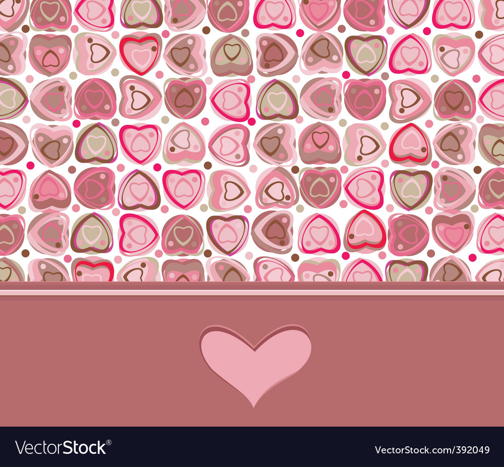 Card heart vector | Price: 1 Credit (USD $1)
