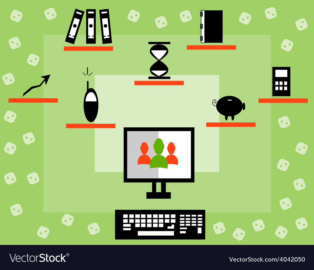 The business concept vector | Price: 1 Credit (USD $1)
