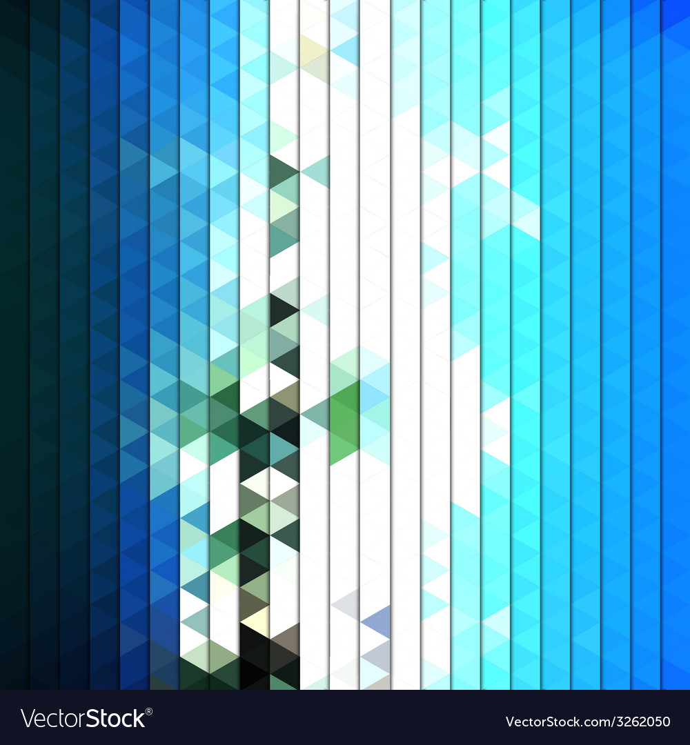 Colorful blue geometric background abstract vector | Price: 1 Credit (USD $1)