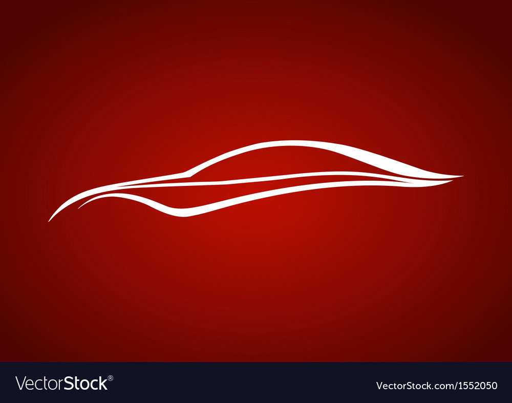 Speedy auto logo over red vector | Price: 1 Credit (USD $1)