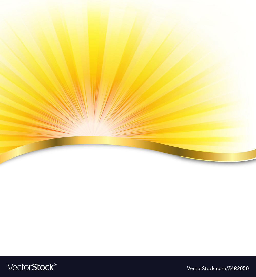 Sun poster with beams vector | Price: 1 Credit (USD $1)