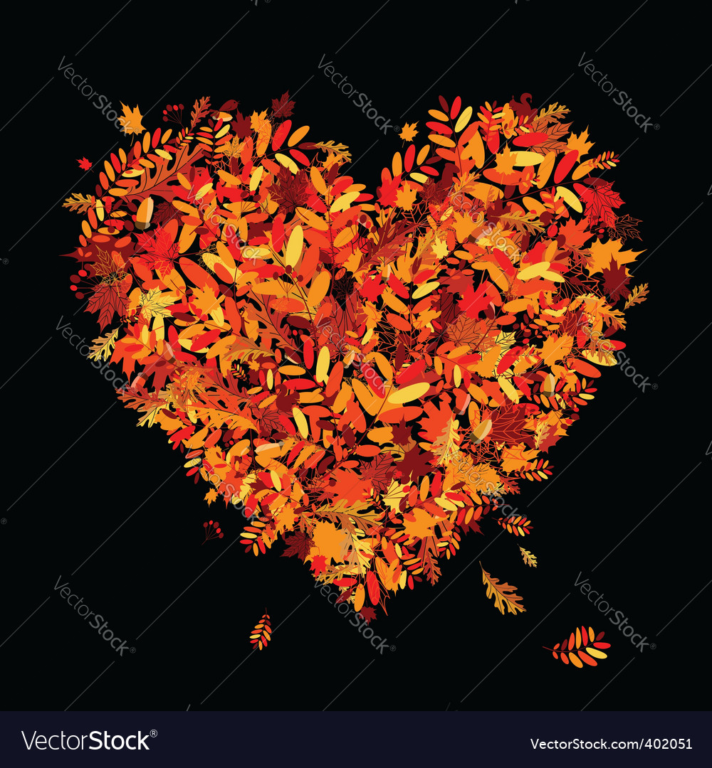 Autumn leaf design vector | Price: 1 Credit (USD $1)