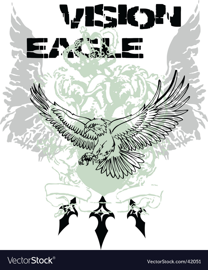 Eagle flying design vector | Price: 1 Credit (USD $1)