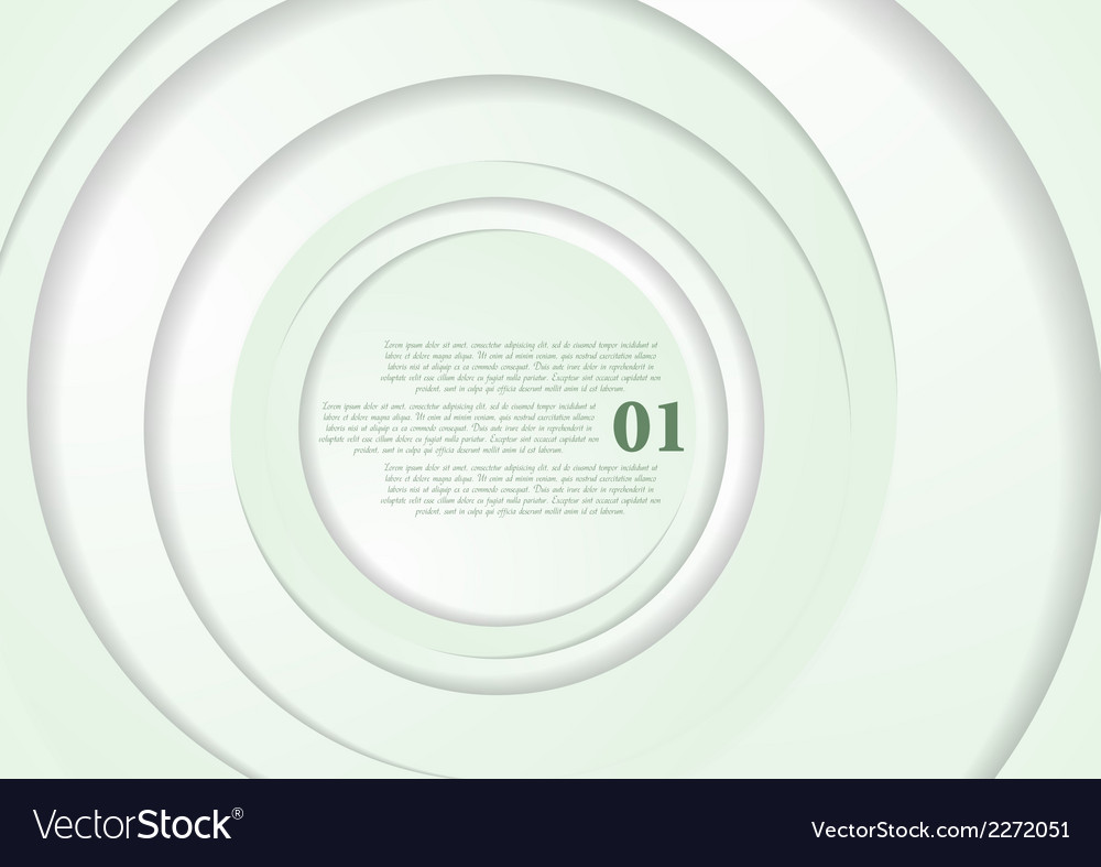 Elegant abstract light green background vector | Price: 1 Credit (USD $1)