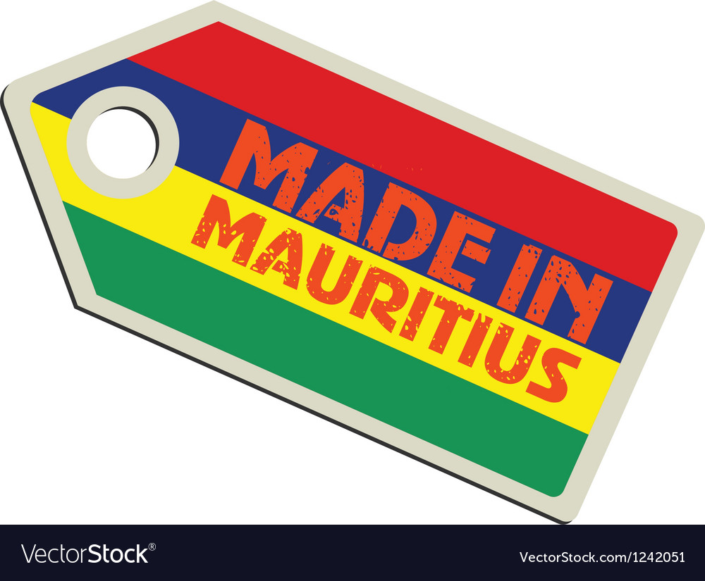 Made in mauritius vector | Price: 1 Credit (USD $1)