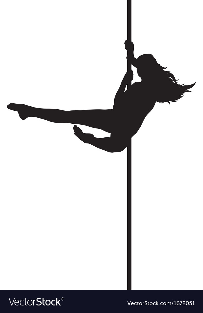 Pole dancer vector | Price: 1 Credit (USD $1)