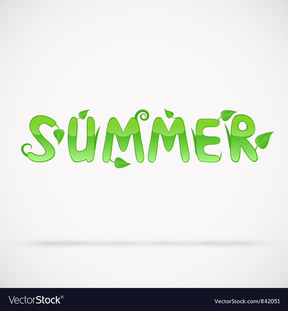 Summer vector | Price: 1 Credit (USD $1)