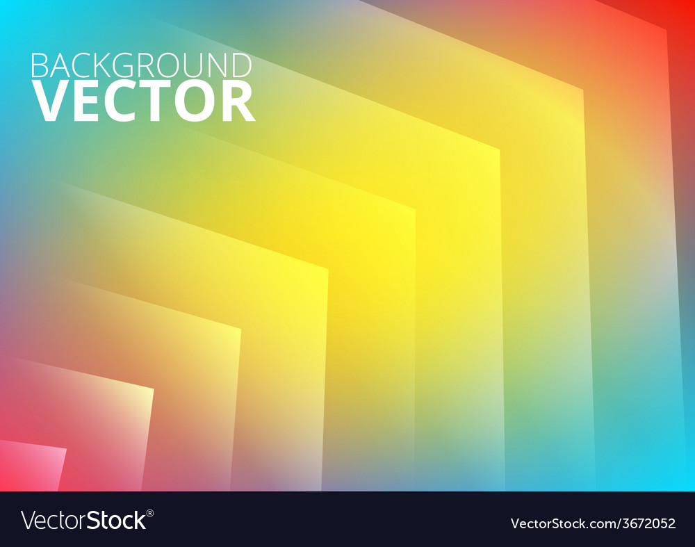 Abstract colored arrows background vector | Price: 1 Credit (USD $1)