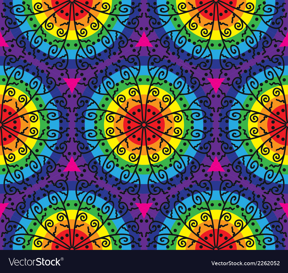 Kaleidoscopic pattern vector | Price: 1 Credit (USD $1)