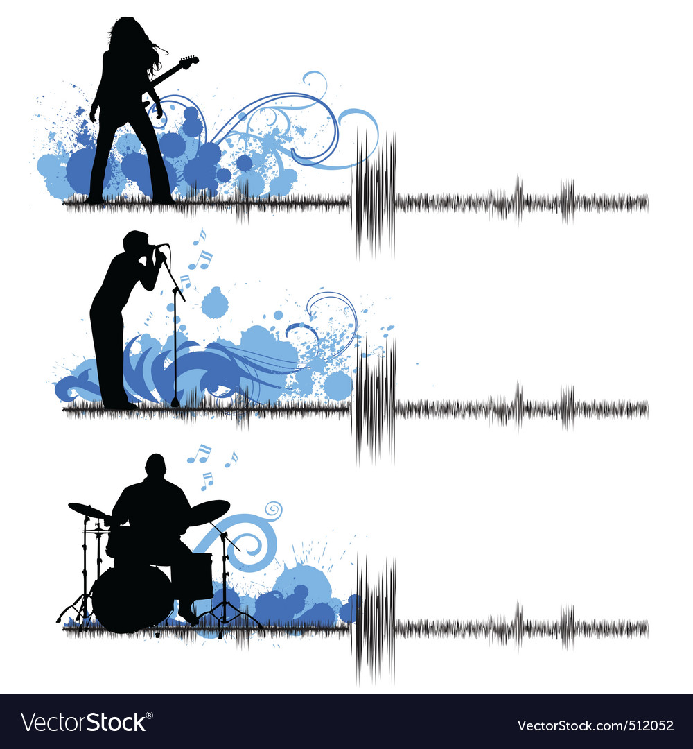 Musical group vector | Price: 1 Credit (USD $1)