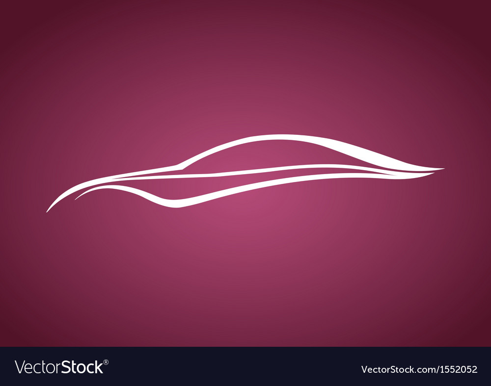 Speedy auto logo over pink vector | Price: 1 Credit (USD $1)