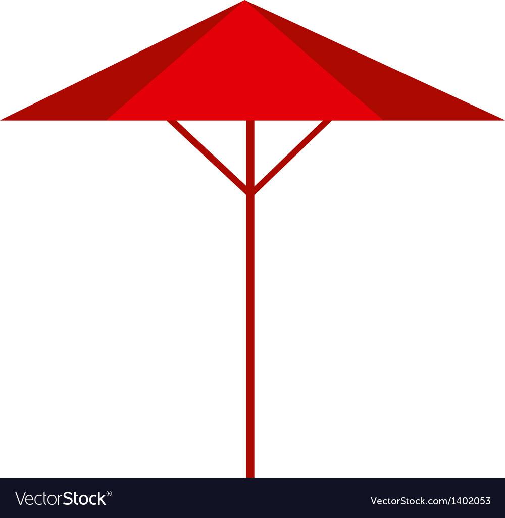A parasol vector | Price: 1 Credit (USD $1)