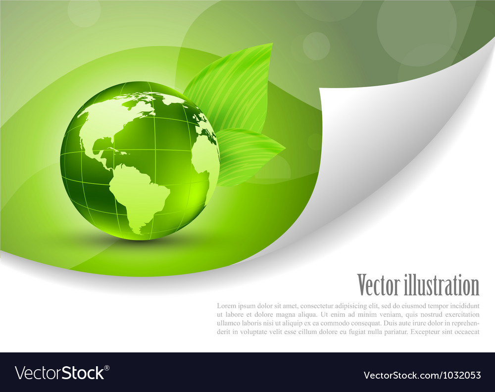 Abstract background with globe vector | Price: 1 Credit (USD $1)