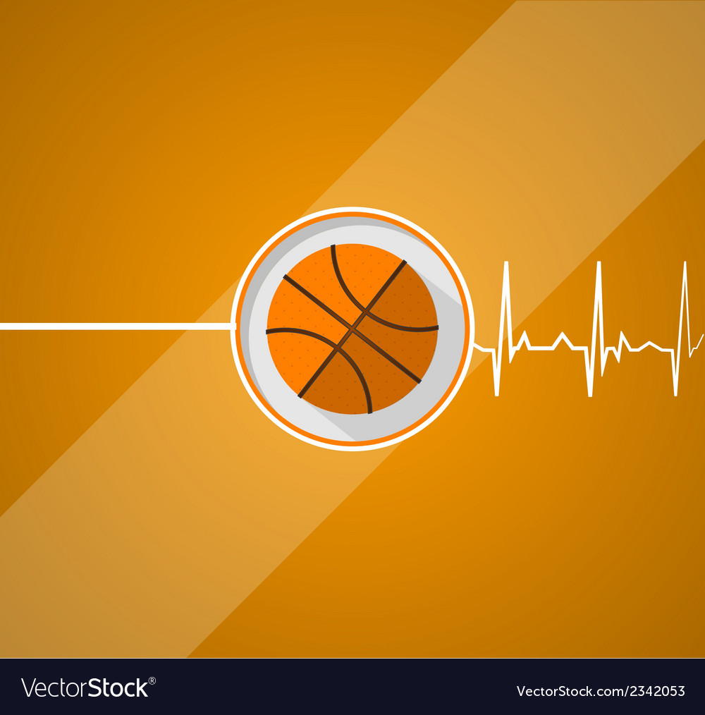 Basketball for life vector | Price: 1 Credit (USD $1)