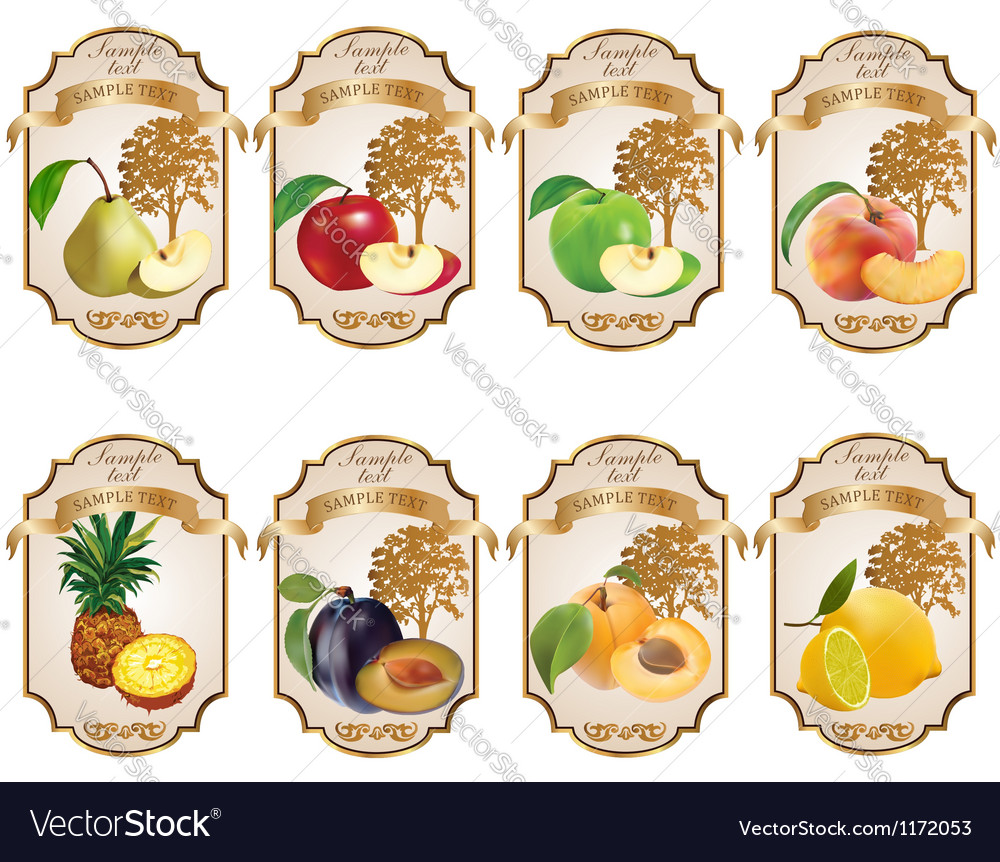 Label for product 3 vector | Price: 1 Credit (USD $1)