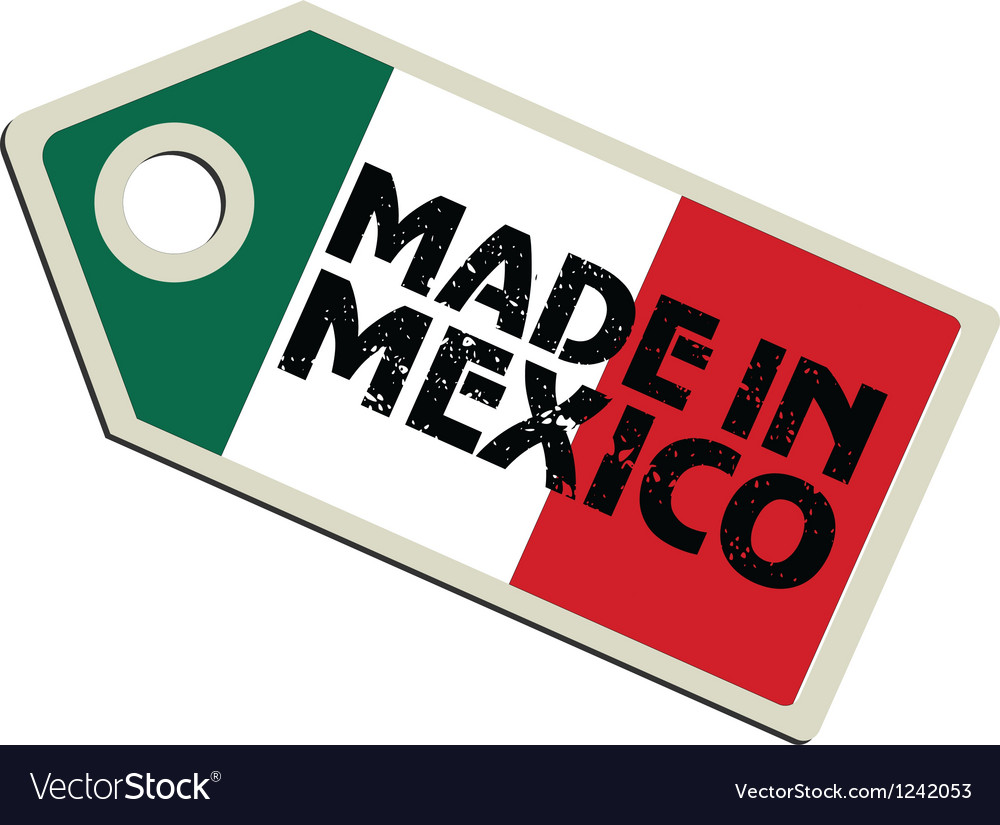 Made in mexico vector | Price: 1 Credit (USD $1)