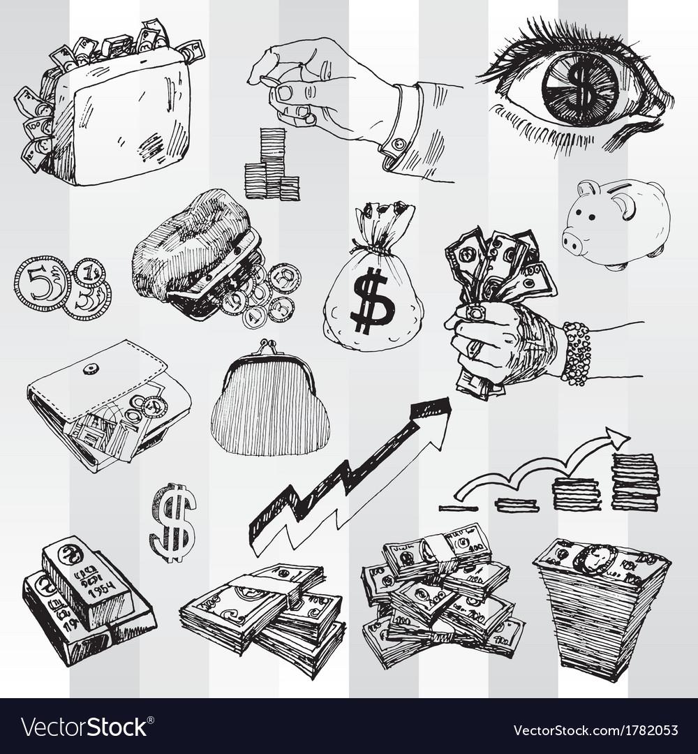 Money vector | Price: 1 Credit (USD $1)